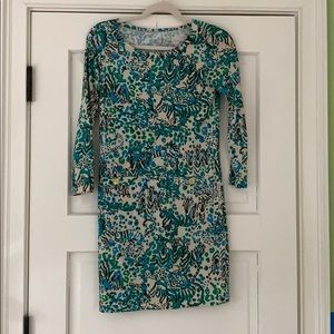 Lilly long sleeve printed dress